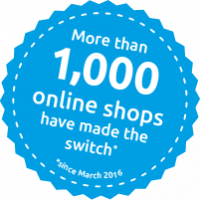 More than 1,000 online shops have made the switch to Foxy Feeds sticker